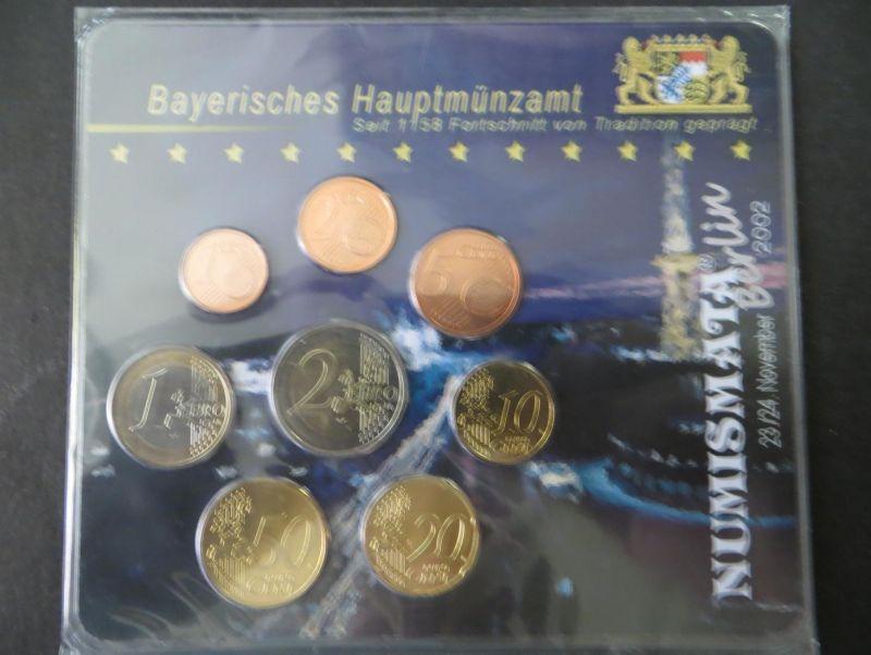Euro Kursmünzensatz Numismata 2002 D limitiert 555 Stück