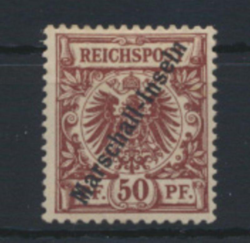 Deutsche Kolonien Marshall Inseln 6 II ungebraucht