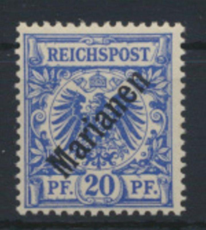 Kolonien Mariannen 4 I Kaiseryacht Luxus postfrisch tiefst gepr. Steuer 700,00