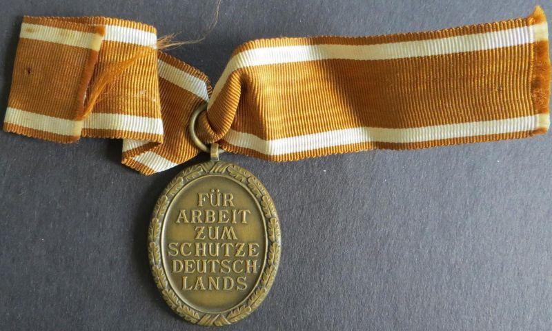 Ehrenzeichen o.J. Drittes Reich Für Arbeit Zum Schutze Deutschlands vz