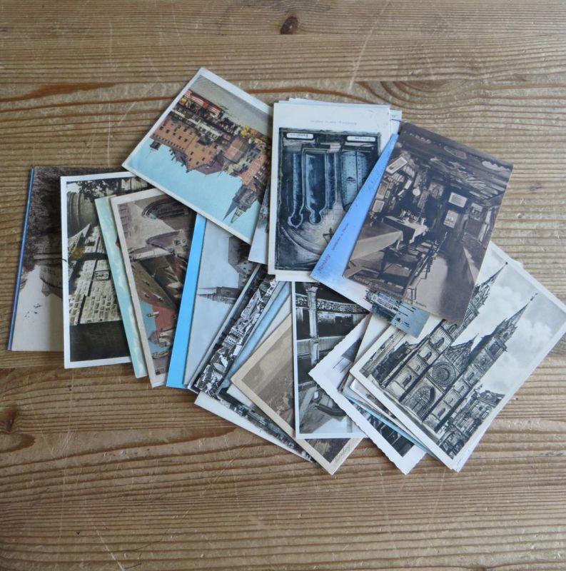 Ansichtskarten Sammlung Nürnberg gesamt 32 Stück meist 1900-1930 in guter Er -