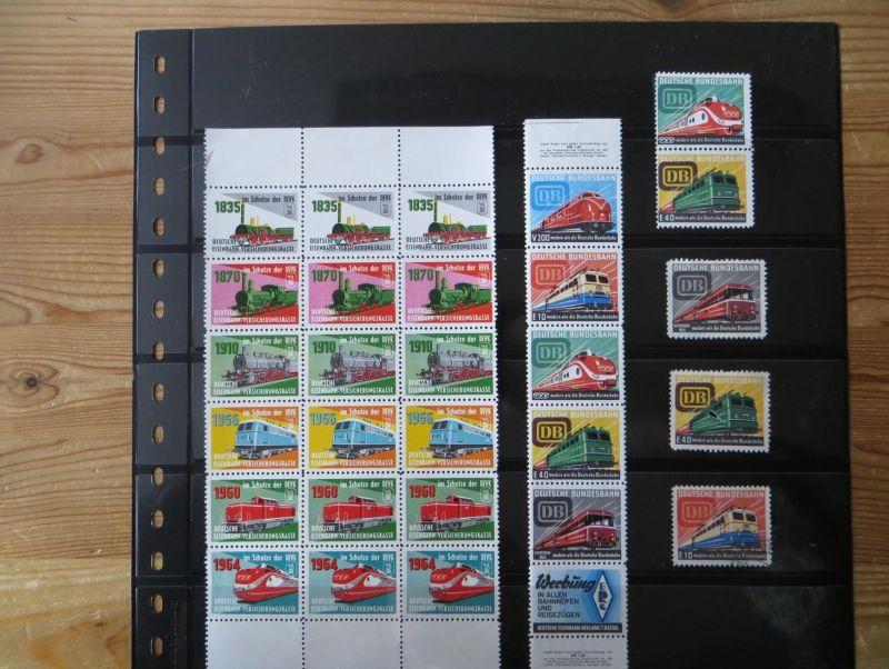 Deutsche Eisenbahn Versicherungskasse 29 Marken Vignetten Im Schutze der DEVK