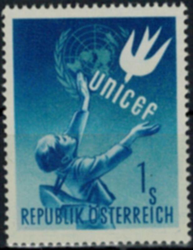 Österreich Kinderhilfswerk der Vereinten Nationen Unicef 933 postfrisch 1949