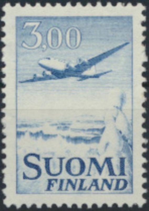 Finnland 579 x I postfrisch Freimarke Flugzeug 1963  Type I