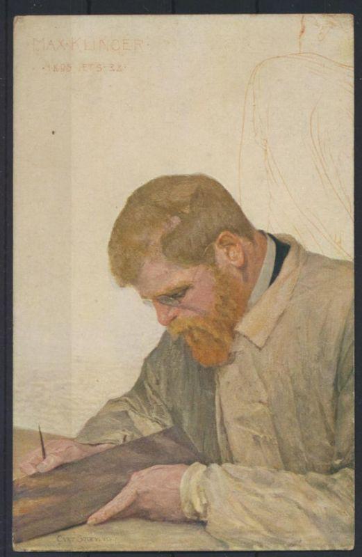 Ansichtskarte Künstler Max Klinger Verlag C. Stoeving