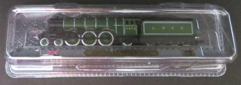 Eisenbahn Dampflokomotive Flying Scotsman delPrado-Modell Spur N Vitrinenmodell