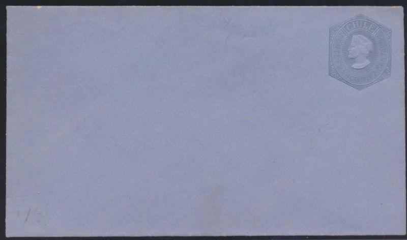 Chile Ganzsache Umschalg 10 c postal postal stationery