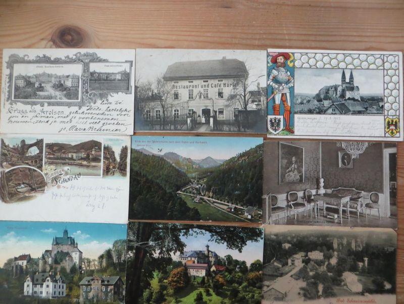 Sammlung Ansichtskarten Topographie Deutschland 161 Originale ca. 1900-40 sehr