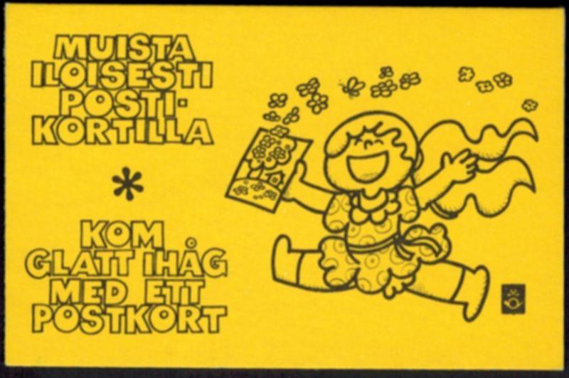 Finnland Markenheftchen 10 I Staatswappen 1978 tadellos postfrisch