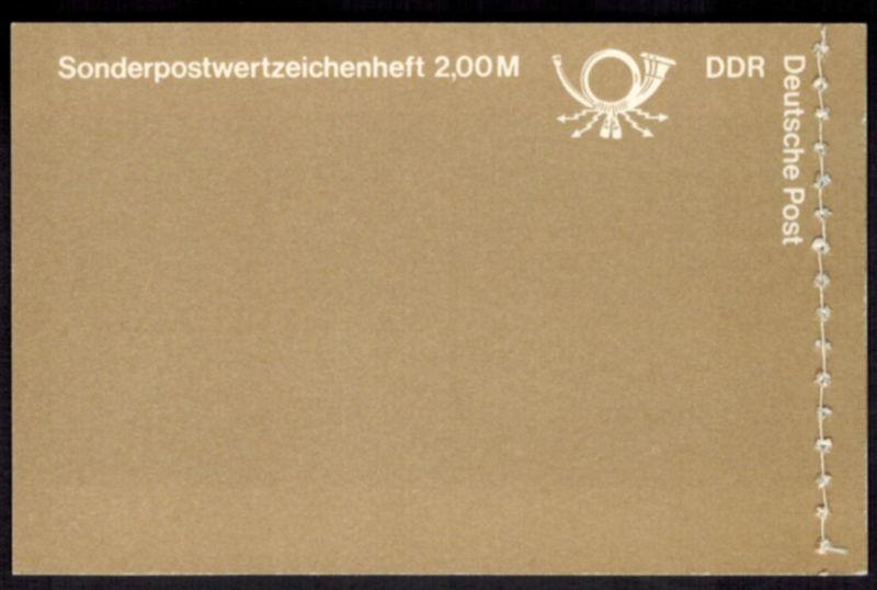 DDR Markenheftchen 9 w 1 Süßwasserfische 1988 tadellos postfrisch 1