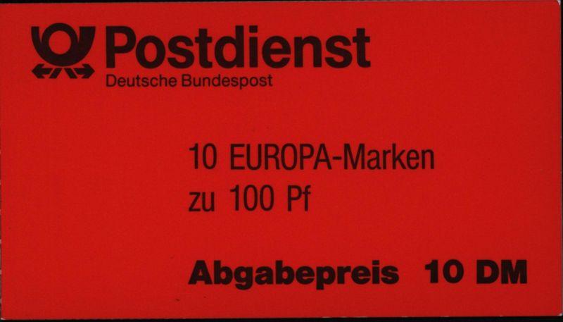 Bund Markenheftchen MH 30 oZ Europa 1994 Quantentheorie postfrisch MNH