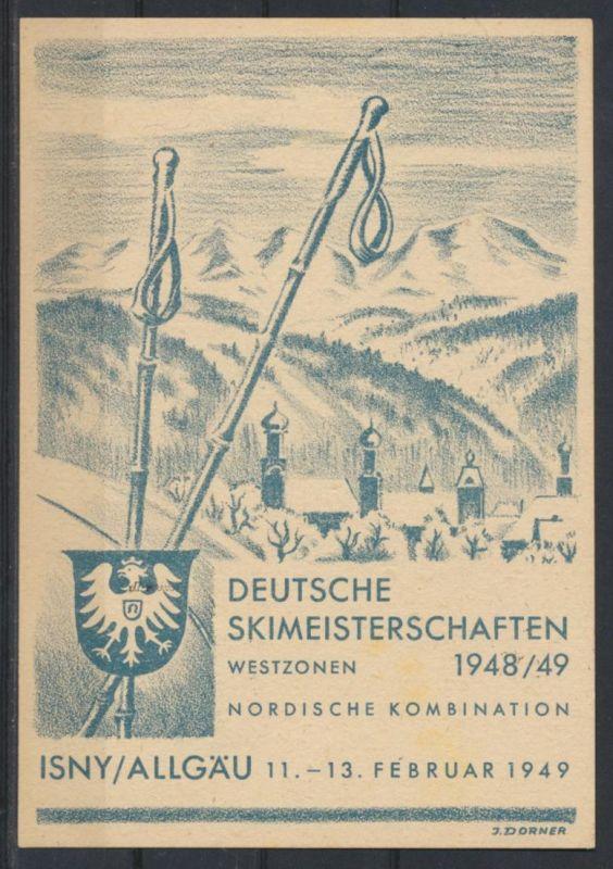 Besetzung Franz Zone Württemberg 38 xII Isny Skimeisterschaften Weingarten tolle