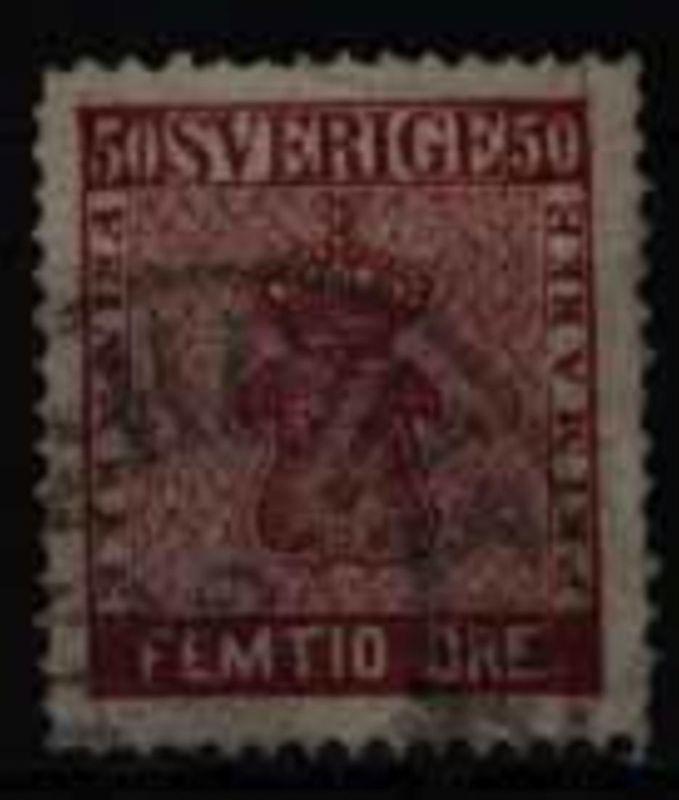 Schweden 12 Reichswappen Höchstwert 50 (Femtio) Öre 1858 geprüft Georg Bühler