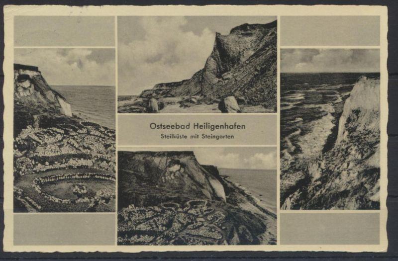 Ansichtskarte Foto Heiligenhafen Ostsee Steilküste nach Hamburg