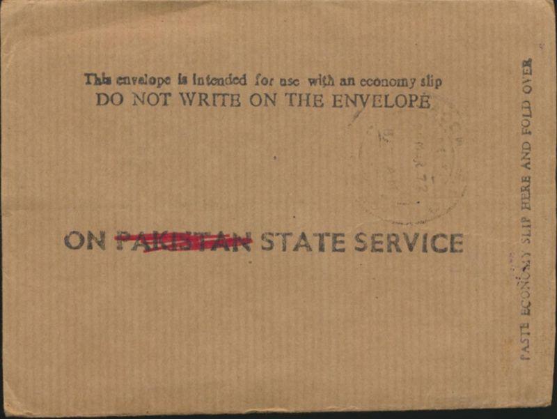 Pakistan Brief Dienstmarken 104 Service Stempel Temporary Bangladesch