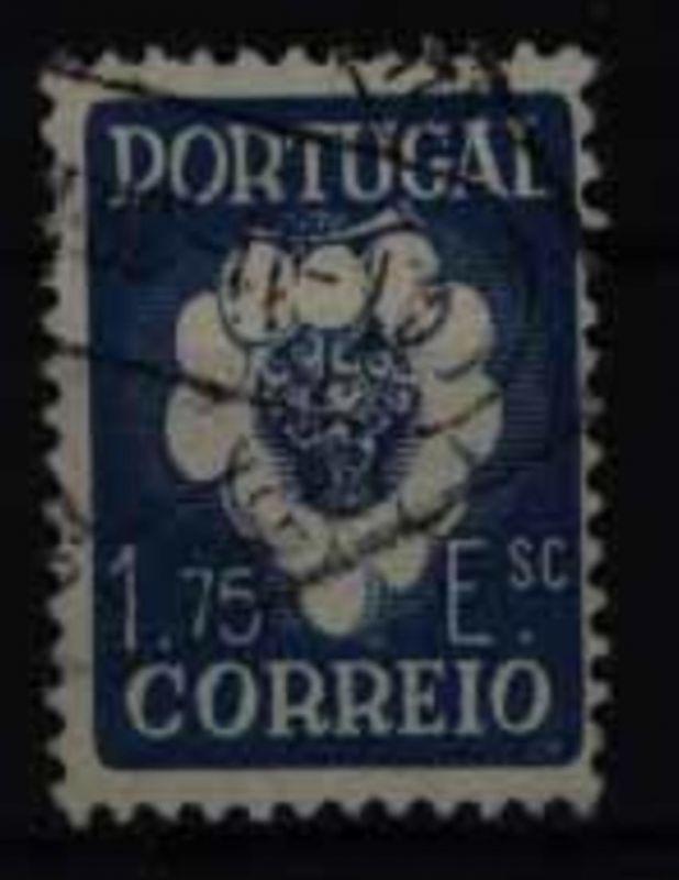Portugal 605 Höchstwert 1,75 E Internationaler Winzerkongress 1938 gestempelt