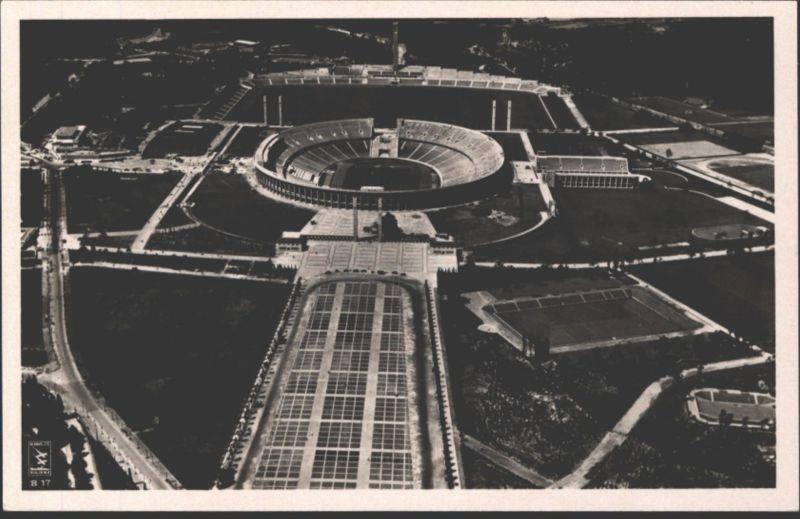 Ansichtskarte Olympia Berlin 1936 tudentika Heidelberg Baden-Württemberg