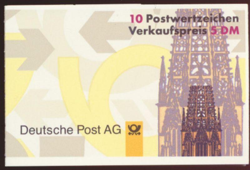 Bund Markenheftchen 34 IoZ Salto kleine Schrifttype Luxus postfrisch