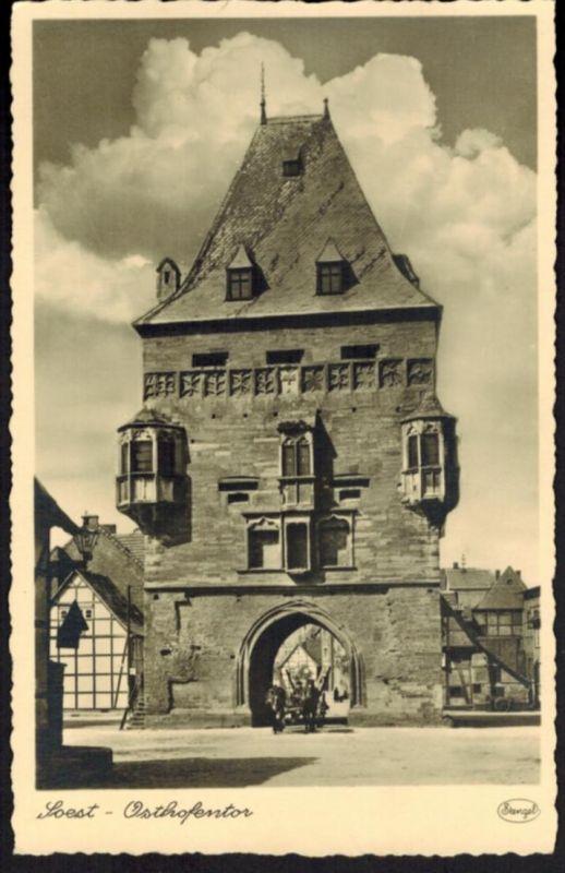 Ansichtskarte Soest Osthofentor NRW