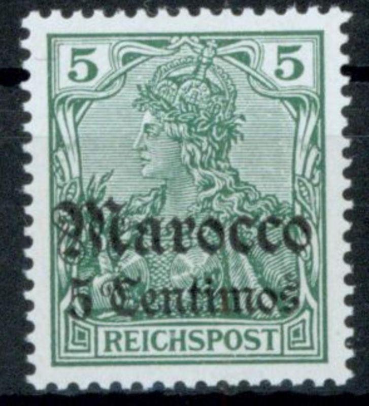Kolonien DAP Marokko 20 Luxus postfrisch MNH Kat.-Wert 24,00