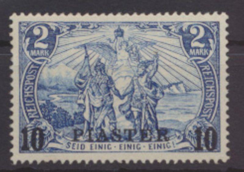 Kolonien DAP Türkei 21 I Luxus postfrisch sign. Faithauer Kat.Wert 140,00