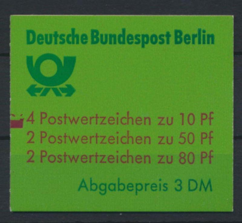 Berlin Markenheftchen 13 a mZ Burgen und Schlösser 1982 Luxus postfrisch 22,00