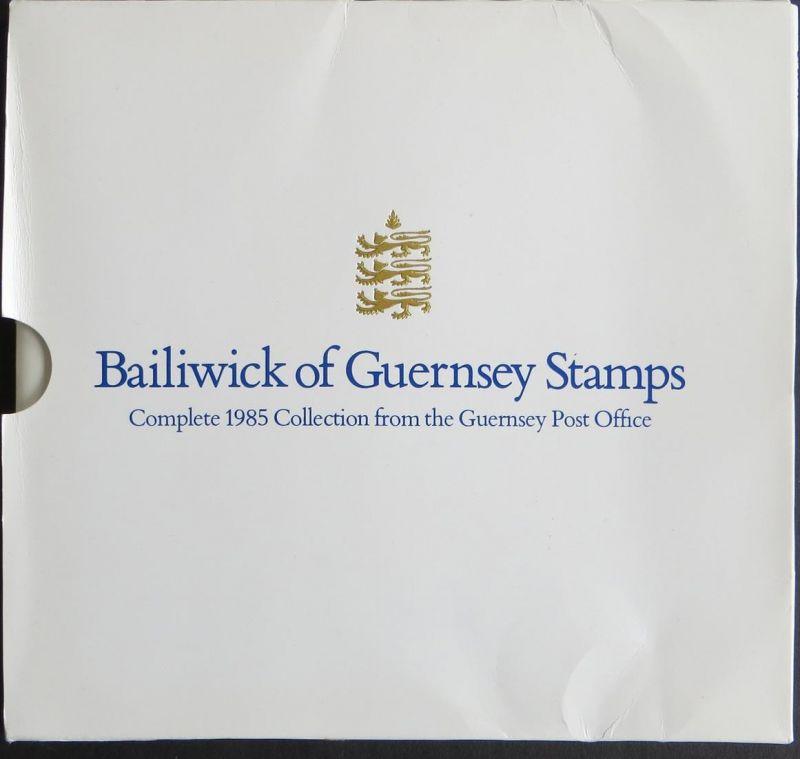 Guernsey Collection 1985 Jahressammlung postfrisch komplett