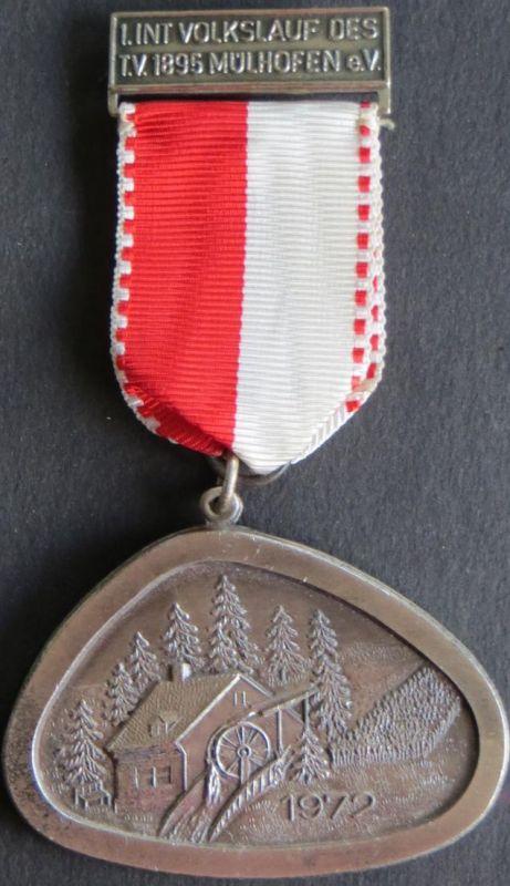 Medaille I. Internationaler des 1865 Mühlhofen e.V. 1972