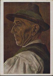 Ansichtskarte Deutsches Reich Spende VDA - Schulsammlung 1940 Künstler Willrich