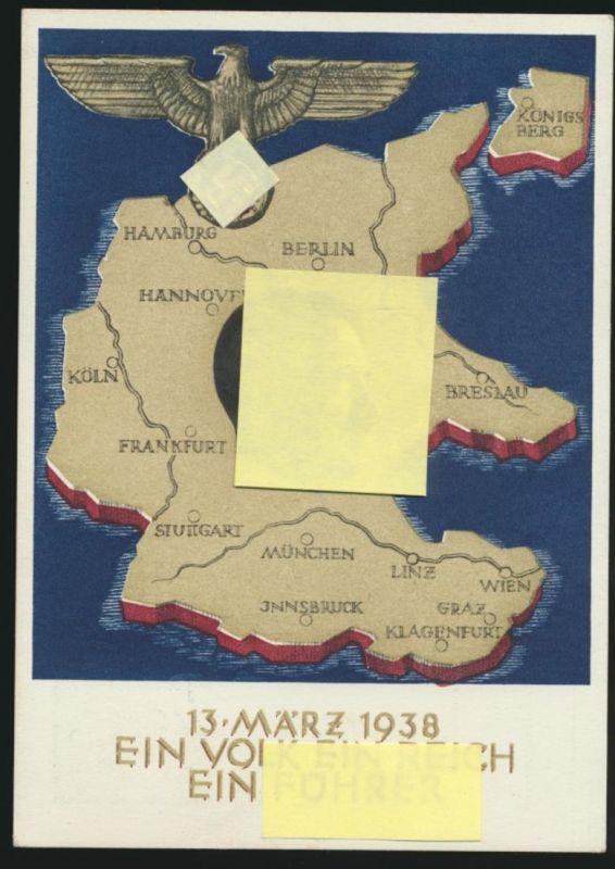 Deutsches Reich Ganzsache ab Salzburg Am 10 April.....dein ja Königsberg Breslau