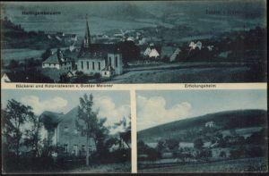 Ansichtskarte Hettigenbeuern Bäckerei Kolonialwaren G. Meixner Buchen Odenwald