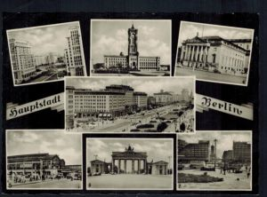 Ansichtskarte Berlin  Hauptstadt  Brandenburger   Tor