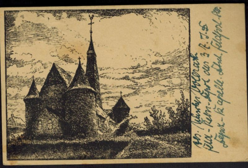 Ansichtskarte Erinnerungsblätter Nordfrankreich Künstler Karl Lotze Feldpost