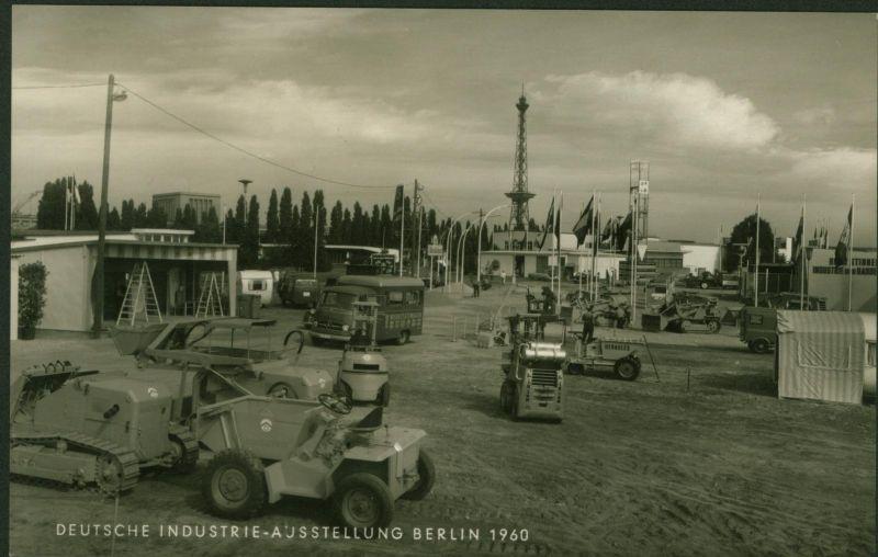Ansichtskarte Deutsche Industrie - Ausstellung Berlin SST 1960