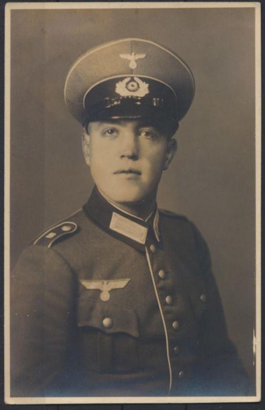 Militaria Foto Ansichtskarte Wilhelm Kuhlich gefallen Kämpfe um Danzig März 1945