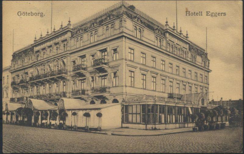 Ansichtskarte Foto Göteborg Schweden Außenansicht Hotel Eggers Kilanda