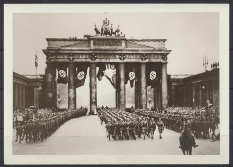 Foto Berlin Brandenburger  Tor 2 WK Propaganda NS-Zeit 0