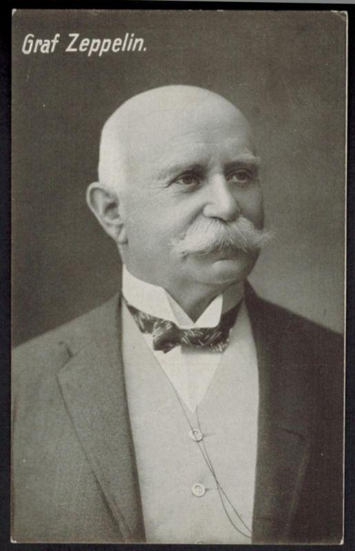 Ansichtskarte Graf Zeppelin Porträt