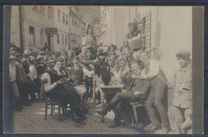 Foto Ansichtskarte Studentika hanschriftlich 1910/11 Verlag Stephan Boppard