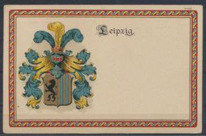 Ansichtskarte Litho Studentika Leipzig 1919