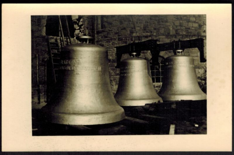 Ansichtskarte Bramsche Spendenkarte Glocken St. Martinus Kirche Niedersachsen