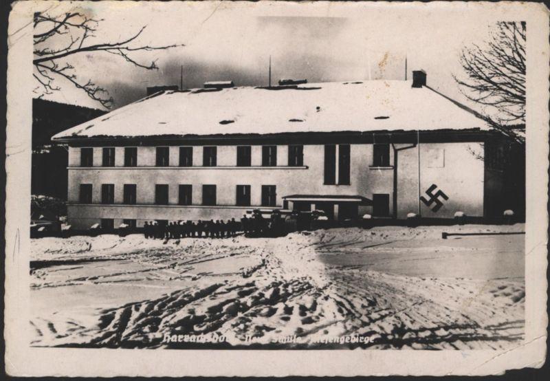 Ansichtskarte Harrachsdorf Mummel in Harrachov Tschechien Henlein Lager Sudeten