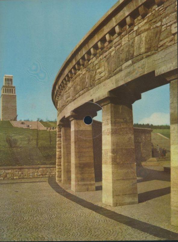 Schallbildkarte Schallplatte Buchenwald Lied Nationale Mahn- und Gedenkstätte
