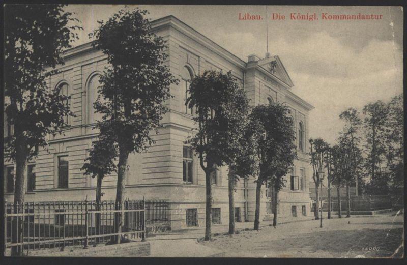 Ansichtskarte Libau Liepāja Lettland Marine Schiffspost 235 n. Altona Feldpost