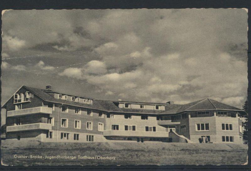Ansichtskarte Jugendherberge Gustav Bratke Torfhaus Oberharz n Gettorf über Kiel