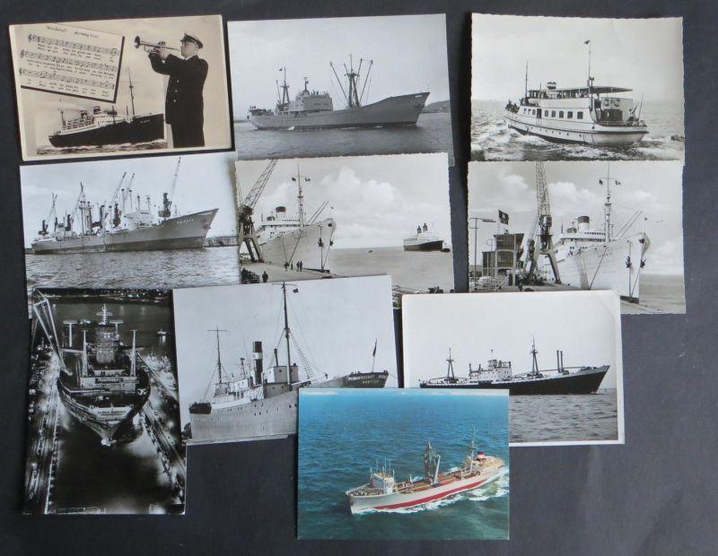 Schiffe Marine Seefahrt schöne Sammlung von 29 Ansichtskarten der verschied. Art