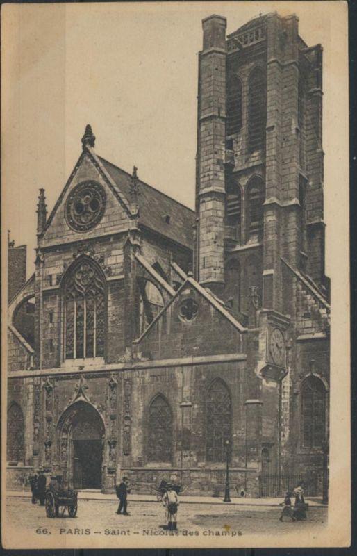 Ansichtskarte Frankreich Paris Saint Nicolas des champs