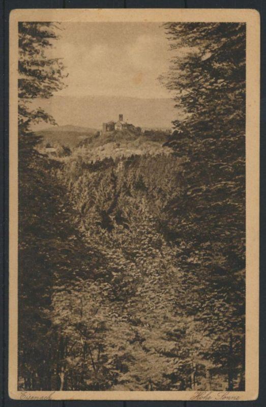 Ansichtskarte Eisenach Hohe Sonne nach d. Wartburg Thüringerwaldverlag Zieschank