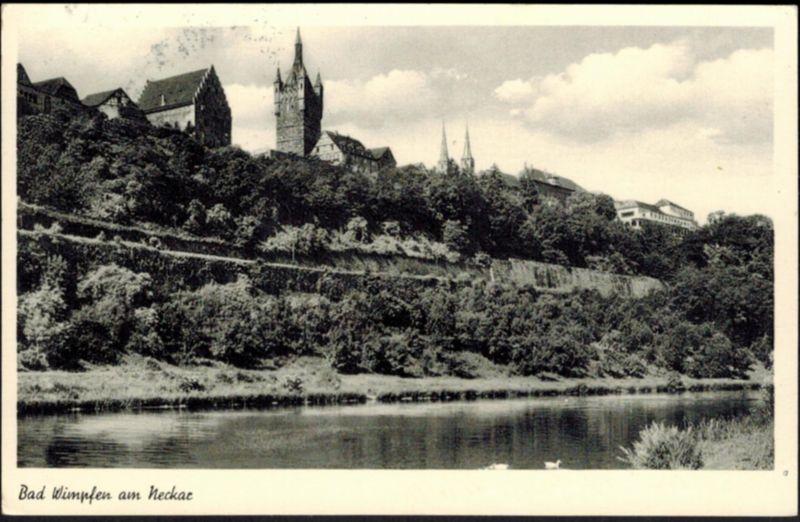 Ansichtskarte Bad Wimpfen am Neckar Baden Württemberg 1960