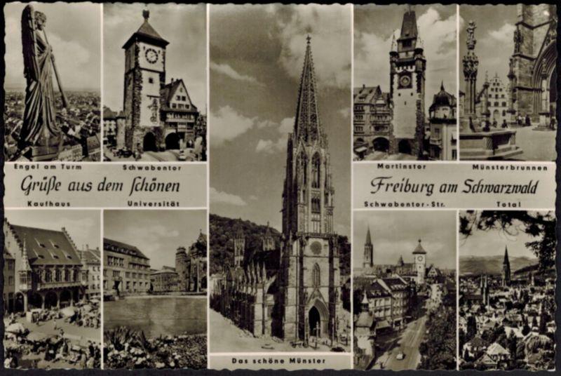 Ansichtskarte Freiburg Schwarzwald Baden-Württemberg